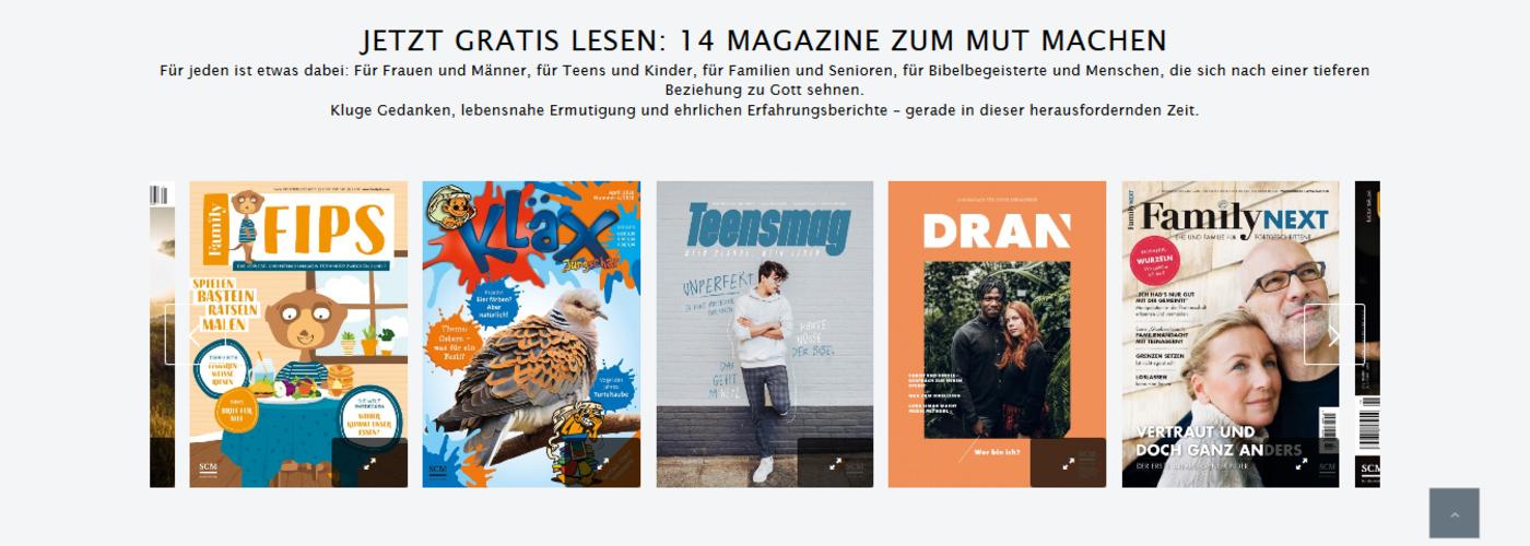 SCM Zeitschriften